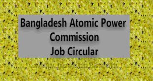 Atomic Power Job Circular