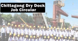 Chittagong Dry Dock Job Circular