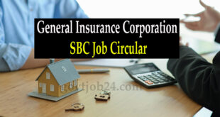 General Insurance Corporation SBC Job Circular