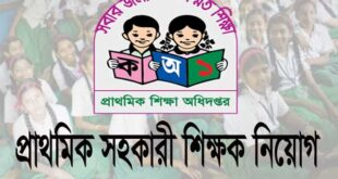How to Apply Primary Assistant Teacher Job Circular